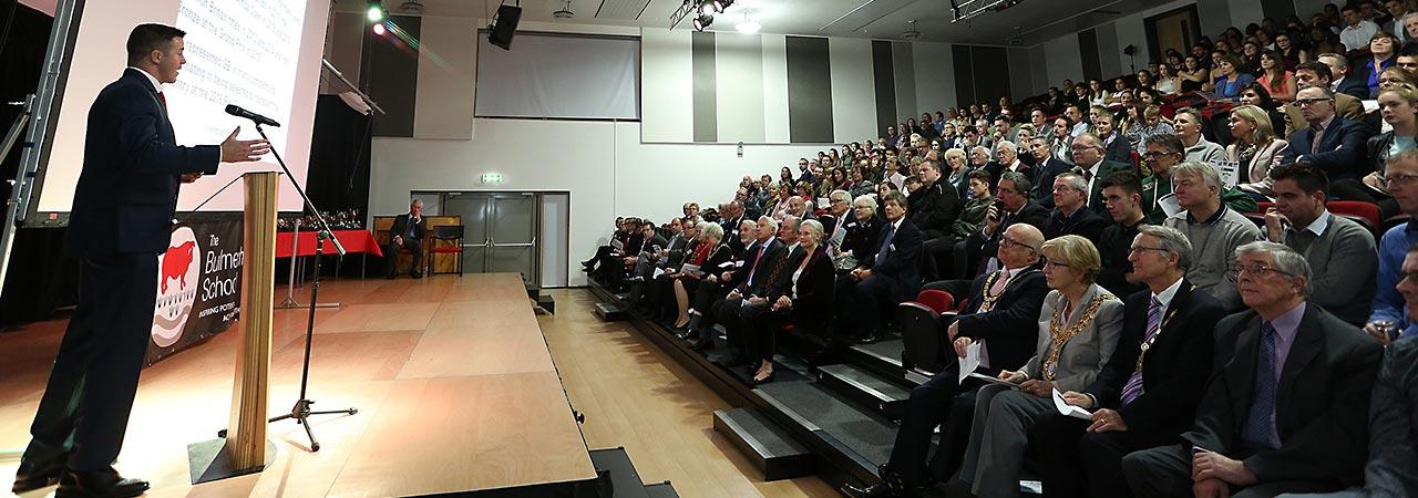Awards ceremony 2016 Ben Fletcher